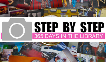 STEP BY STEP: 365 days in the library